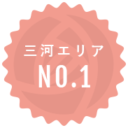 三河エリアNO.1