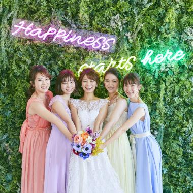 【初見学おすすめ】花嫁支持率No,1*WeddingParty体験×試食